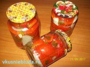 помидоры дольками консервы