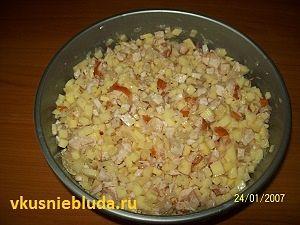начинка для картофельных колбасок