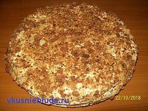 наполеон рецепт торта