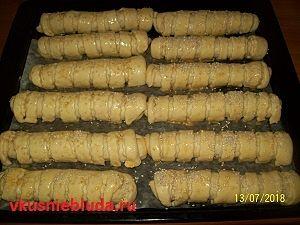 пирожки трубочки