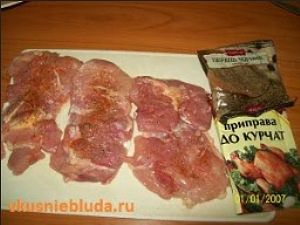 специи мясо куриное