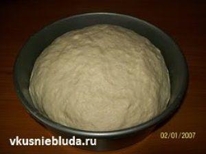 дрожжевое тесто для пампушек