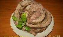 мясной рулет из говядины