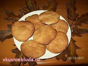 печенье из хлопьев овсяных