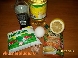соус для креветок ингредиенты