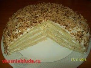 приготовить торт сметанник