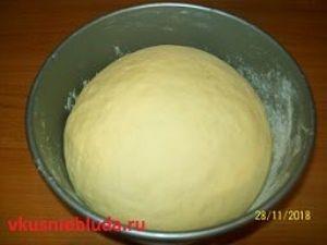 рецепт пирожки с яблоками тесто