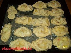 рецепт пирожки с яблоками