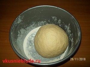 тесто для пирожков с яблоками