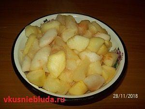 яблоки для пирожков