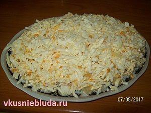 вкусный салат с ананасами
