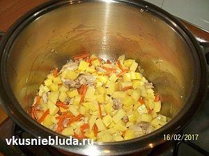 готовим суп с гречневыми клёцками