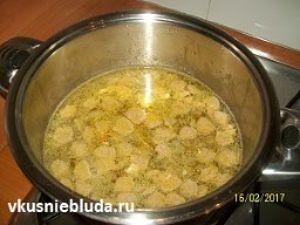 клёцки из гречки для супа