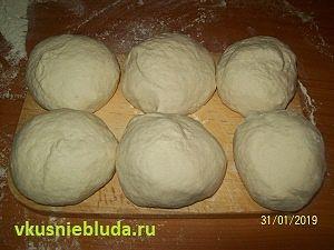 слоёное тесто для самсы