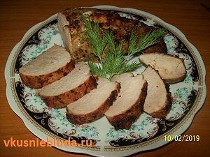свиное филе запеченное