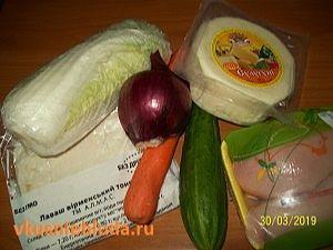 ингредиенты для домашней шаурмы