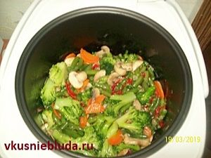 овощи для риса