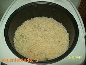 овощи с рисом басмати