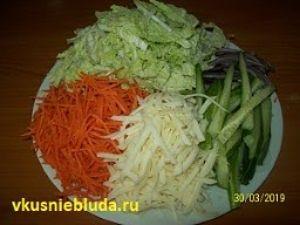 овощи сулугуни для шаурмы