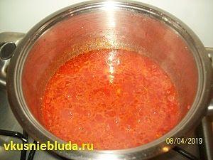 соус для чечевичных тефтелей