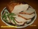 Запеченная свиная корейка.