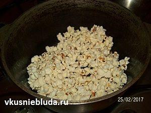 попкорн рецепт