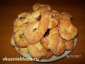 рецепт итальянское печенье