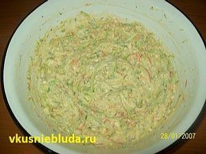 кабачковая смесь для оладий
