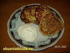 рецепт вкусных кабачковых оладушек