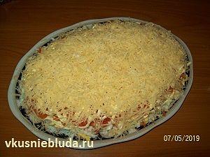 сырный слой салат