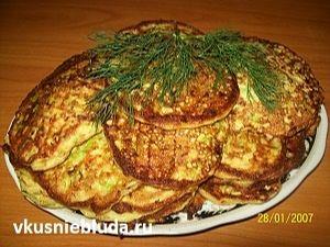 вкусные оладушки из кабачков