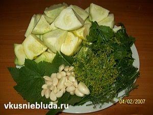 патиссоны рецепт маринование