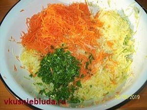 овощная смесь для оладий