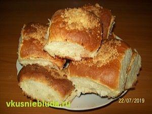 рецепт булочки с вишней