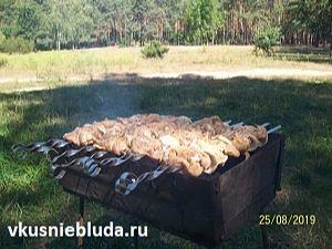 рецепт куриный шашлык на мангале