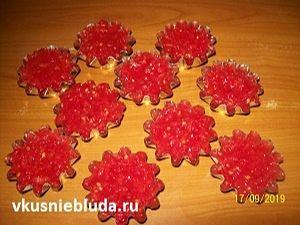 томатное пюре в формочках