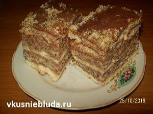 рецепт торт с орехами