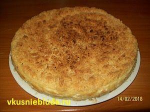 деревенский пирог рецепт