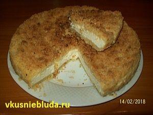 рецепт деревенский пирог с творогом