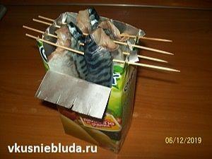 готовим балык из скумбрии