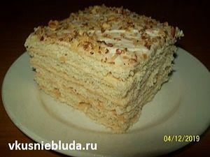 вкусный торт паутинка