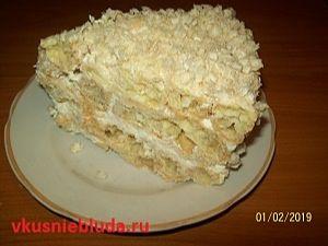 рецепт торт из профитролей