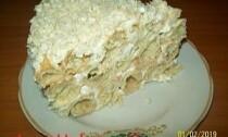 торт из профитролей