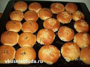 рецепт духовые пирожки с грибами