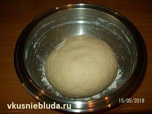 тесто для пирожков с грибами
