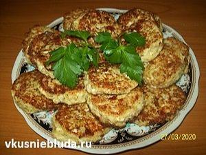 оладушки с брокколи