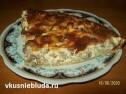 Пирог с курицей и грибами.