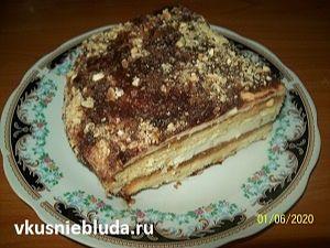 рецепт вкусный песочный торт