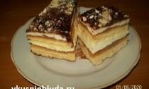 вкусный песочный торт