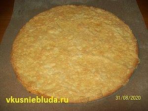 коржи для яблочного торта